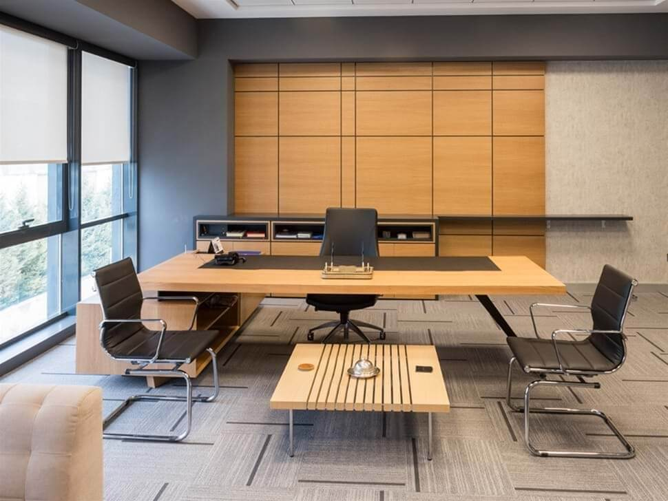 arrow office furniture. Front View Of An Arrow Executive Desk With Two Chairs And A Coffee Table Infront Office Furniture R
